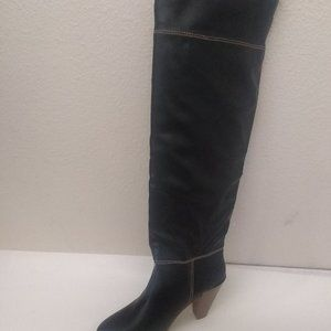 GOMAX Prima Donna -01 BLACK Over the Knee Boot 9